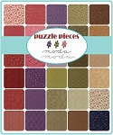 Puzzle Pieces Jelly Roll by Moda
