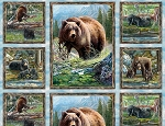 Bear Meadow 94751 427 Panel, Wilmington Prints