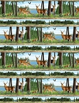 Oh Deer 30161 724 Border Prints, Wilmington Prints