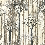 It's Cold Outside Metallic Q7650 126S Tan Trees, Hoffman