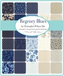 Regency Blues Layer Cake, Christopher Wilson Tate by Moda