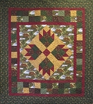 Bear Tracks Return to Cub Lake Flannel Quilt Kit, Holly Taylor by Moda