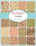 Roses and Chocolate 2 Charm Pack by Moda