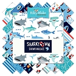 Sharktown C6350 Navy Baby Cakes Quilt Kit, Riley Blake