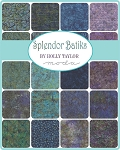 Splendor Batiks Jelly Roll, Holly Taylor by Moda