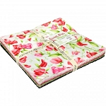 Sweet Pea Flannel Raggy Cakes Ragtime Quilt Kit, Maywood
