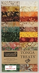 Tonga Batik Cranberry Jelly Roll Strips, Timeless Treasures
