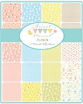 Sweet Baby Flannel Layer Cake, Abi Hall by Moda