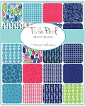 Tidepool Charm Pack, Kate Nelligan by Moda