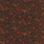 Turning Leaves 6574 16 Mini Leaves Brown, Holly Taylor by Moda