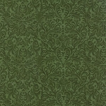 Turning Leaves 6576 11 Stencil Print Light Green, Holly Taylor by Moda