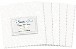 White Out 5 Inch Charm Pack Squares Wilmington Prints