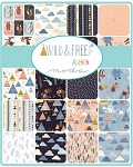Wild and Free Charm Pack, Abi Hall by Moda