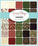 Winter Village Jelly Roll, Basic Grey by Moda