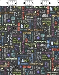 Quilt Minnesota 2020 Y3021 55 MN Sayings Multicolor, Clothworks