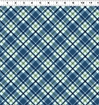 Quilt Minnesota 2021 Y3322 90 Blue Plaid Clothworks