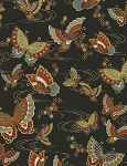 Zen CM5109 Black Butterflies, Timeless Treasures