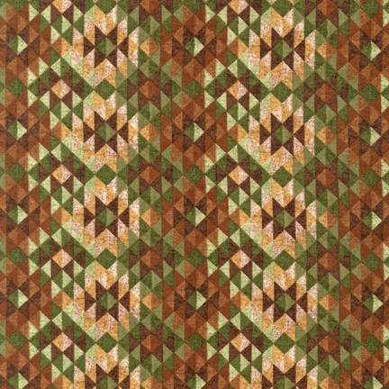 Timber Lodge Flannel 14474 44 Forest Mini Patchwork, Kaufman