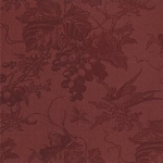 Vin Du Jour Floral Grape Toile 44021 12 Burgundy, 3 Sisters by Moda
