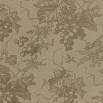 Vin Du Jour Foral Grape Toile 44021 15 Stone, 3 Sisters by Moda