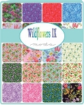 Wildflowers 9 Charm Pack, Moda