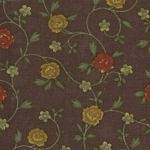 Wildflower Serenade II 9251-17 Rose Vine Purple, Kansas Troubles by Moda