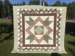 Wild Prairie Rose Quilt Kit, Holly Taylor by Moda