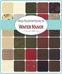 Winter Manor Jelly Roll, Holly Taylor by Moda