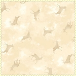Wonder of Winter Flannel F3006 E Cream Deer Tonal, Maywood Studio