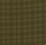 Wool Needle Flannel 1057 13F Stone Campbell Plaid, Primitive Gatherings by Moda