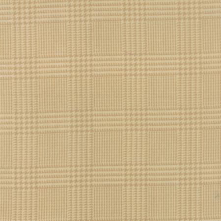 Wool and Needle III Flannel 1132 11F Tan Houndstooth, Primitive Gatherings by Moda