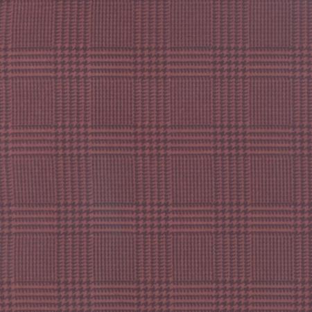 Wool and Needle III Flannel 1132 24F Posey Houndstooth, Primitive Gatherings by Moda