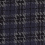 Wool Needle Flannel II 1091 22F Denim Bold Plaid, Primitive Gatherings by Moda