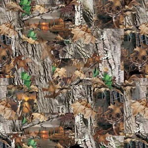 Realtree 10170 Lakeside Sunset Patchwork, Print Concepts