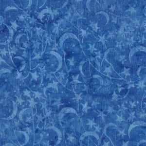 Prairie Skies 121924536 Star Lake Blue Island Batiks