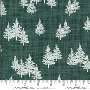 Juniper Frost 13202 17 Green Trees Kate and Birdie Moda