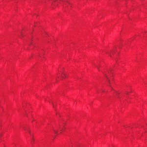 Hoffman Bali Batik Hand dyed Watercolors 1895 208 Strawberry Daquiri