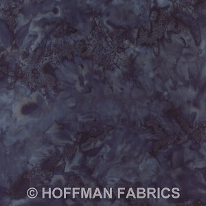 Hoffman Bali Batik Hand dyed Watercolors 1895 21 Teal
