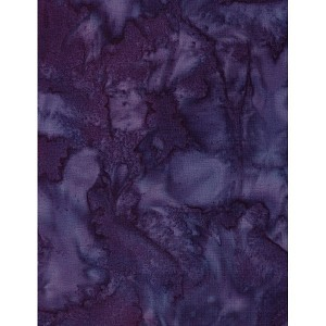Hoffman Bali Batik Hand dyed Watercolors 1895 424 Salvia