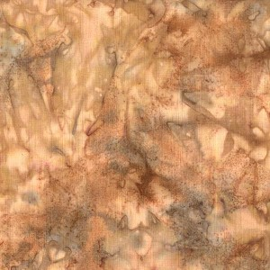 Hoffman Bali Batik Hand dyed Watercolors 1895 64 Tan