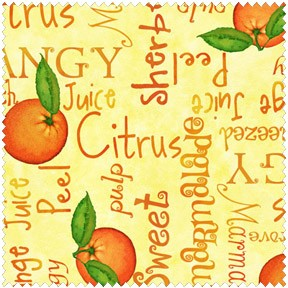 Gerdies Grove 2033 34 Yellow Oranges Words, Studio E