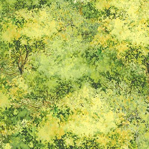 Wilmington Prints Sanctuary 46011 577 Trees Allover Light Green