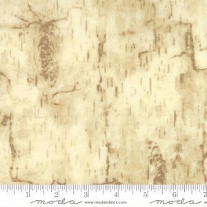 Endangered Sanctuary Flannel 6655 15F Cream Birch Bark, Holly Taylor by Moda