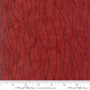 River Journey 6684 20 Red Flow, Holly Taylor by Moda