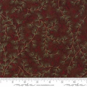 Once Upon a Memory 6732 14 Copper Pine Bough, Holly Taylor by Moda