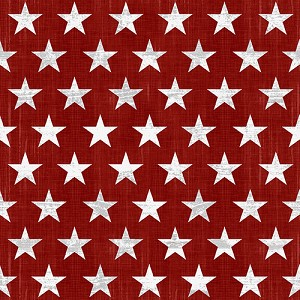 Live Free 9183 81 Red Stars, Henry Glass