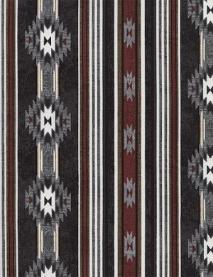 Cabin Stripe C4805 Black, Timeless Treasures