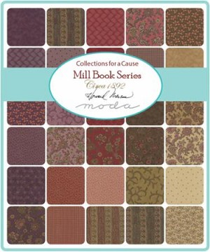 Collections for a Cause Mill Book 1892 Layer Cake, Howard Marcus by Moda