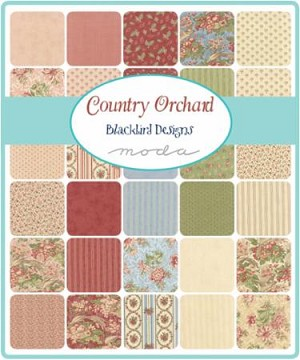 Country Orchard Charm Pack, Blackbird Designs by Moda