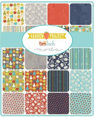 Garden Project Charm Pack, Tim & Beck by Moda